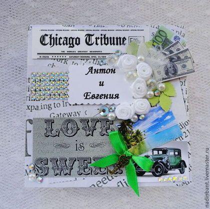 Коробочка Именная на Свадьбу для денежного подарка - коробочка,коробка