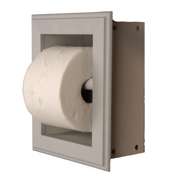 Wg Wood Products Newton Recessed Toilet Paper Holder 21