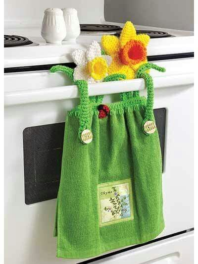 Tea Towel Holder Manteles Para Cocina Pinterest