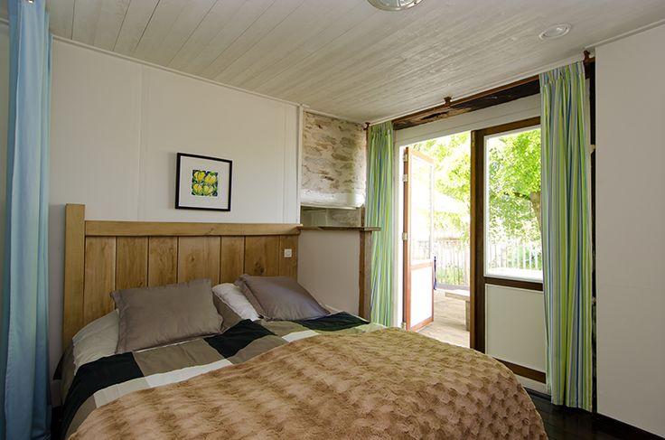 Vrijstaand vakantiehuis Dordogne tweepersoons slaapkamer