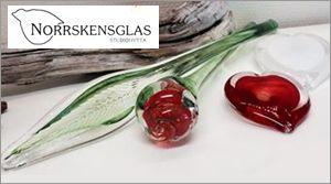 Norrskensglas glashytta ligger i det natursköna Arjeplog