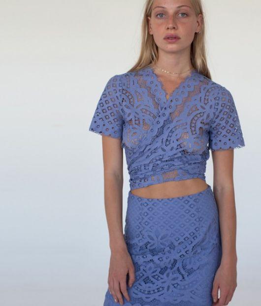 Jeet Pavlovic: Pepa Lace Top & Pauline Lace Skirt