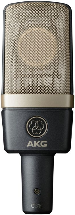Large-diaphragm Multi-pattern Condenser Microphone with 155dB Max SPL, Switchable 20dB Attenuation, and Low-cut Filter