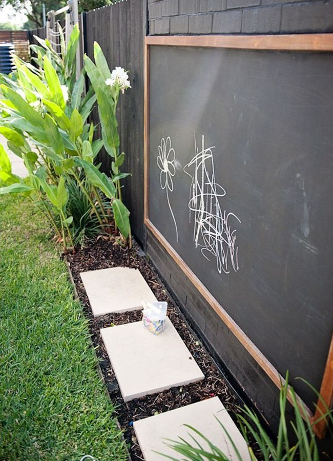 From reusable tags to children's play corners, there are many ways a chalkboard can make a home both trendy and organised.