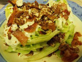 Seshat Moon Willow: Green Goddess Wedge Salad (My take on Applebee's salad)