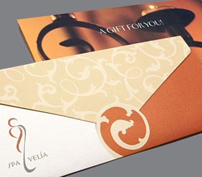 DESIGNED BY KMG: http://www.kmgraphiques.com   CONTACT: Kathy@kmgraphiques.com  SPA VELIA   GIFT CARD PACKET (designed while at Van Vechten Creative)2 Spavelia Jpg, Spa Velia, 2009 2010 Spa, Kathy'S Kmgraphiques Com Spa, Kathy Kmgraphiqu Com Spa