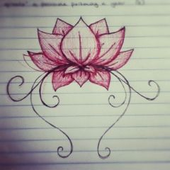 Thinking of adding a stem or other embellishments to my existing lotus tattoo. this might work.