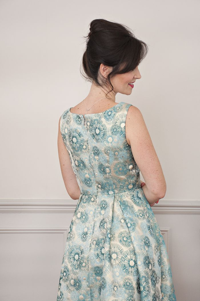 Sew Over It Elsie Dress sewing pattern: beautiful in special jacquards and brilliant brocades
