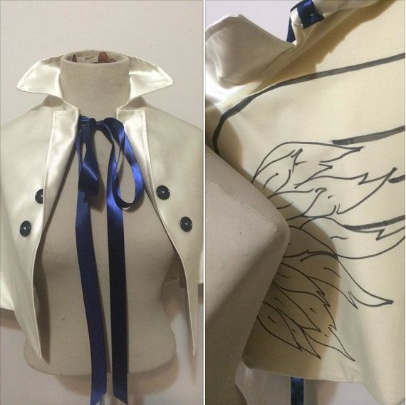Castiel angel cape supernatural cosplay by lorigami on Etsy