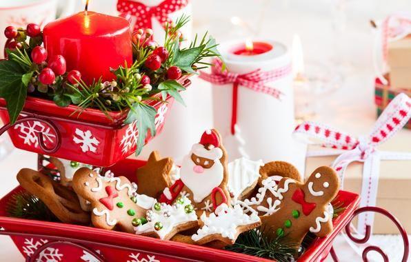 Обои картинки фото еда, новый год, рождество, christmas