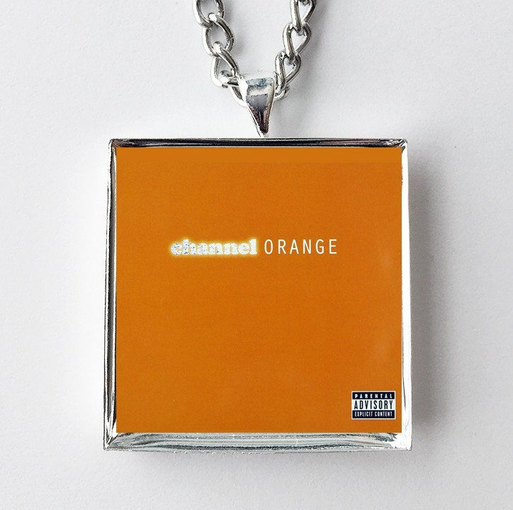 Frank Ocean - Channel Orange - Album Cover Art Pendant Necklace