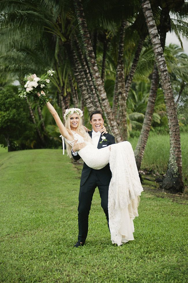 palm trees in a row - Show Me Your Mumu Founder gets married