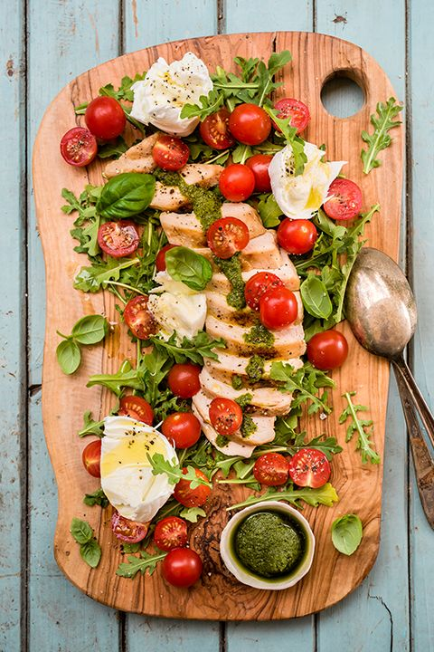 INGREDIENTS BY SAPUTO   For a quick BBQ meal idea packed with Italian flavour, try this easy recipe for reinvented Caprese grilled chicken with Saputo Mozzarina di Bufala cheese.