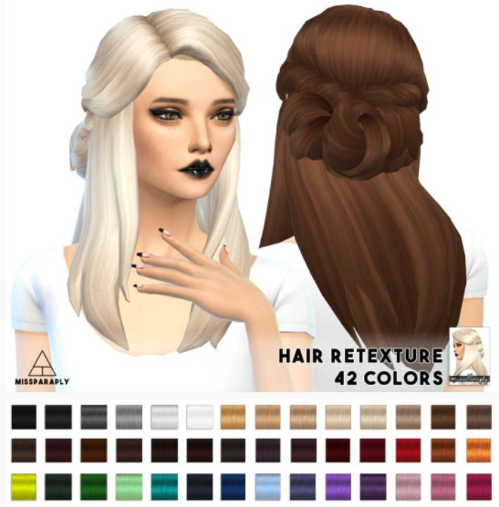 Miss Paraply: Lumia Lover Sims Sawyer hairstyle retextured - Sims 4 Hairs - http://sims4hairs.com/miss-paraply-lumia-lover-sims-sawyer-hairstyle-retextured-2/
