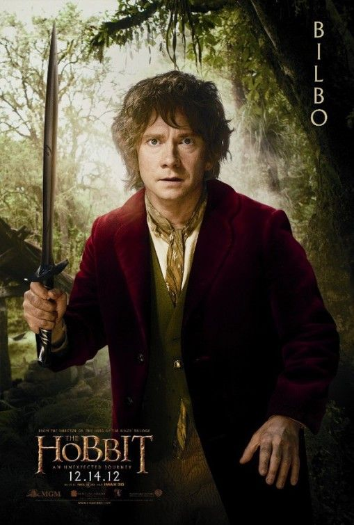 The Hobbit: An Unexpected Journey Movie Poster. guys. Watson is a hobbit.