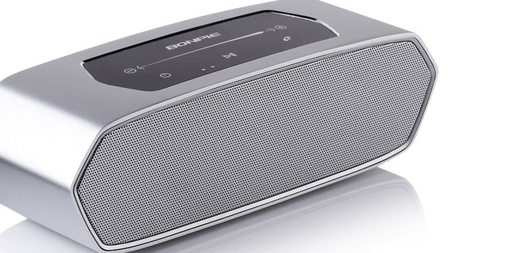 Want some powerful #audio on the go? Check out the Bonpie WS-712 Bluetooth #PortableSpeaker and enjoy great sound at - https://goo.gl/MEa1Xl