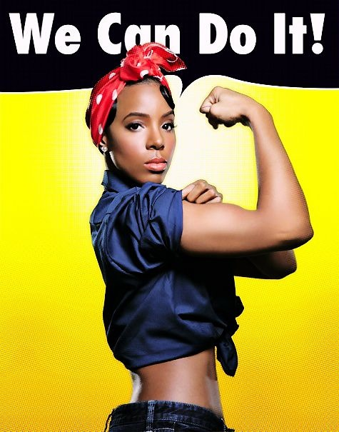 BLACK FITSPIRATION: Altered Ego, Hair Show, Girls Power, Strong Women, Kellyrowland, Kelly Rowland, Independence Women, Rosie The Riveter, Black Women