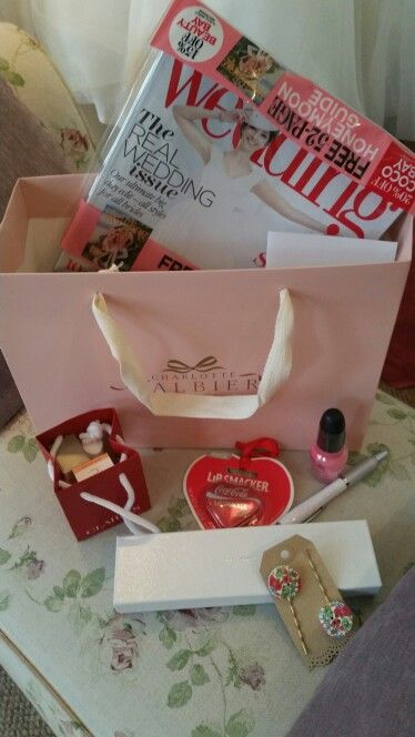 Goody bags at Lace & Co.