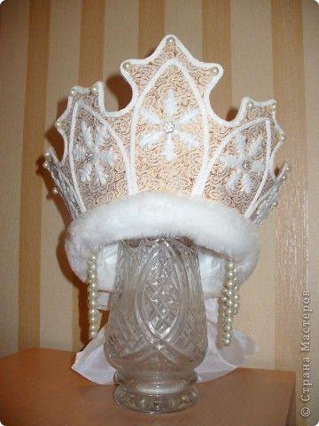 Гардероб Шитьё: Костюм Снегурочки Ткань Новый год. Фото 2