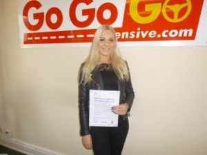 I am so chuffed with the Go Go Go Intensive Driving Course. They pre-booked my theory test and fast tracked my practical test and I passed both tests first time. they have saved me months and months of waiting.