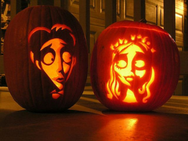 the dead bride halloween pumpkin carving idea best ever - Halloween Stuff