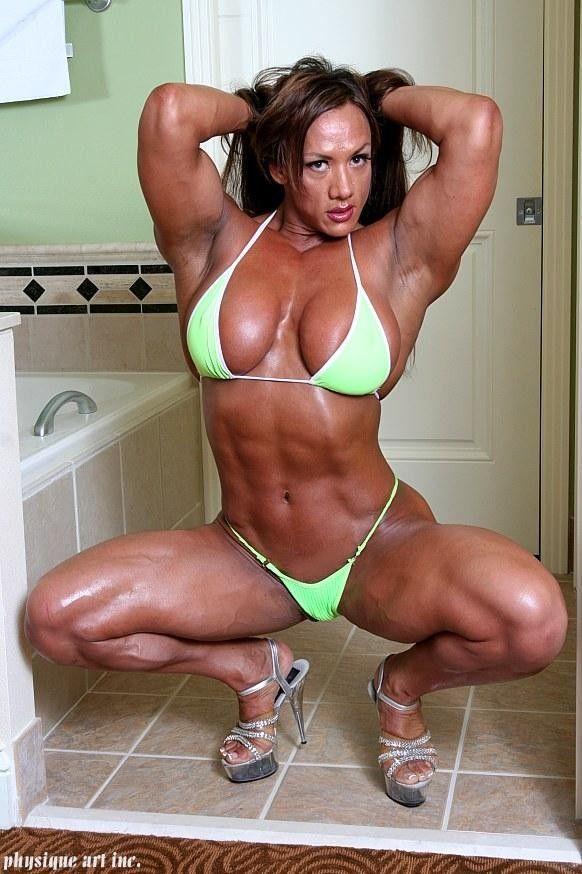 Lindsay Mullinazzi Muscular Women Muscle Girls Fitness Mod Amabitch 1