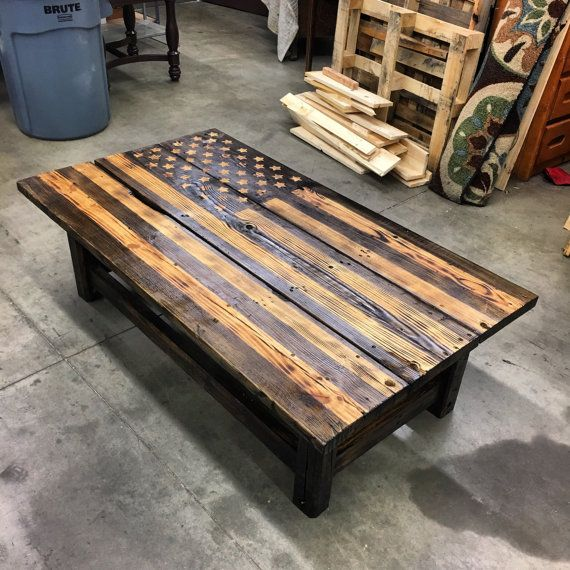 Distressed American Flag Coffee Table: 10 Best Table Images On Pinterest