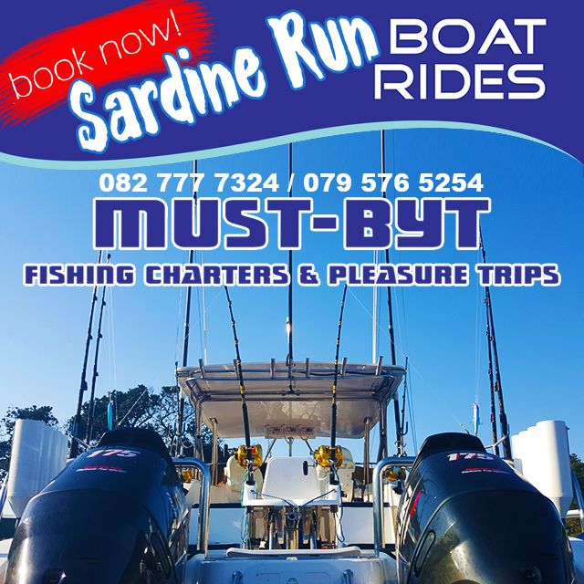 @MustBytFishing your 1st choice to book a #deepsea #fishingtrip during the #2016SardineRun!