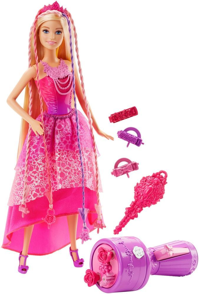 Barbie Endless Hair Kingdom Snap 'n Style Princess Doll #Barbie
