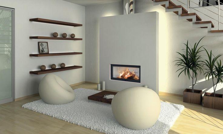 Krbová vložka, firepace BeF Trend V 12 Velkoformátové prosklení. Nejnovější systém výsuvných dveří zajišťující maximální těsnost, komfort obsluhy a díky novému systému konstrukce je tato vložka s výsuvnými dveřmi daleko méně prostorově náročná. Oblíbený formát dveří s černě podbarveným sklem. Roštové topeniště vyložené carconem. Externí přívod vzduchu umožňuje připojení elektronické regulace hoření. Precizní zpracování ovládání vzduchu zajišťuje plynulou a přesnou regulaci krbové vložky.