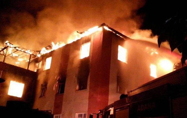 Incendio en dormitorio de Turquía deja 12 mujeres muertas - http://www.notimundo.com.mx/mundo/incendio-dormitorio-turquia/