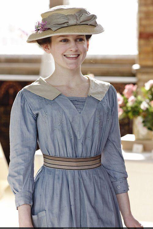 Sophie McShera as #Daisy Mason in #Downton #Abbey (2010) - via the-garden-of-delights