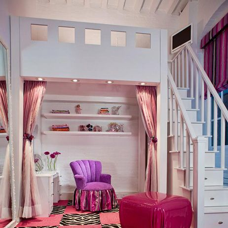 loft beds for girls | Stylish Bunk Beds for Your Kids - Archivenue