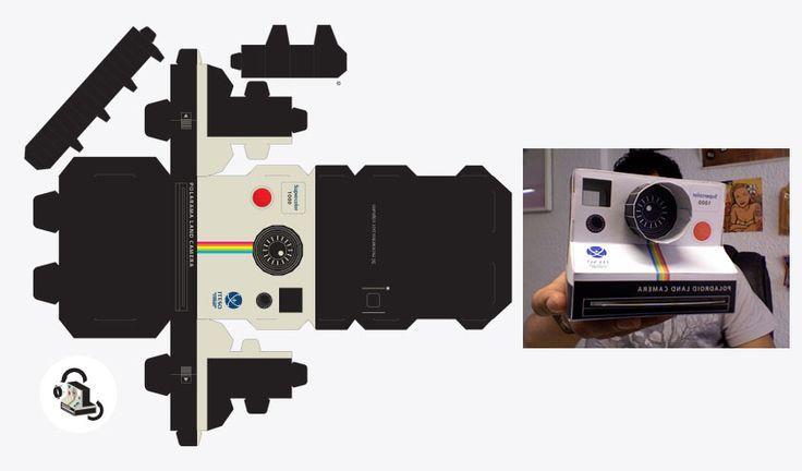 vintage camera box template - Buscar con Google