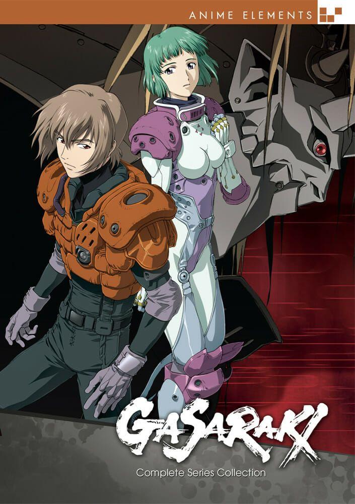 Review Gasaraki Anime Mecha Anime 2016 Anime
