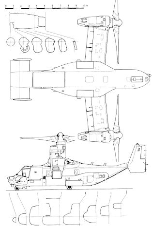 Resultado De Imagem Para V 22 Osprey Blueprint