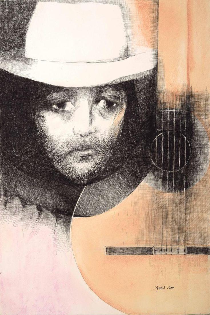 MARTÍN FIERRO, La soledad y tristeza de Martín Fierro,  Artista Rosenell Baud. http://www.ellibrototal.com/ltotal/ficha.jsp?t_item=6&id_item=70061