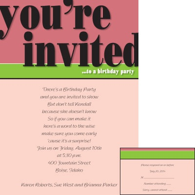 10 best Birthday Party Invitations images on Pinterest Birthday - best of invitation birthday party text