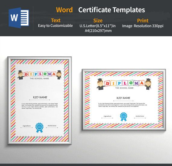 kid certificate  ,baby certificates ,child Certificates,kids diploma ,classroom awards ,certificates