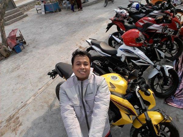 Touring ke Pantai Camplong - Madura, dengan Honda New CB150R