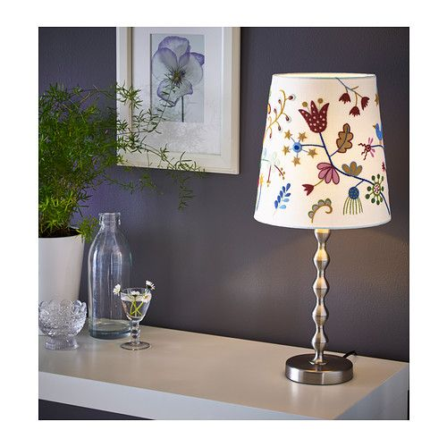 ALFHILD FÅGEL Shade IKEA You can either hang the shade from ceiling as pendant or put it on a table lamp base for use as table lamp.