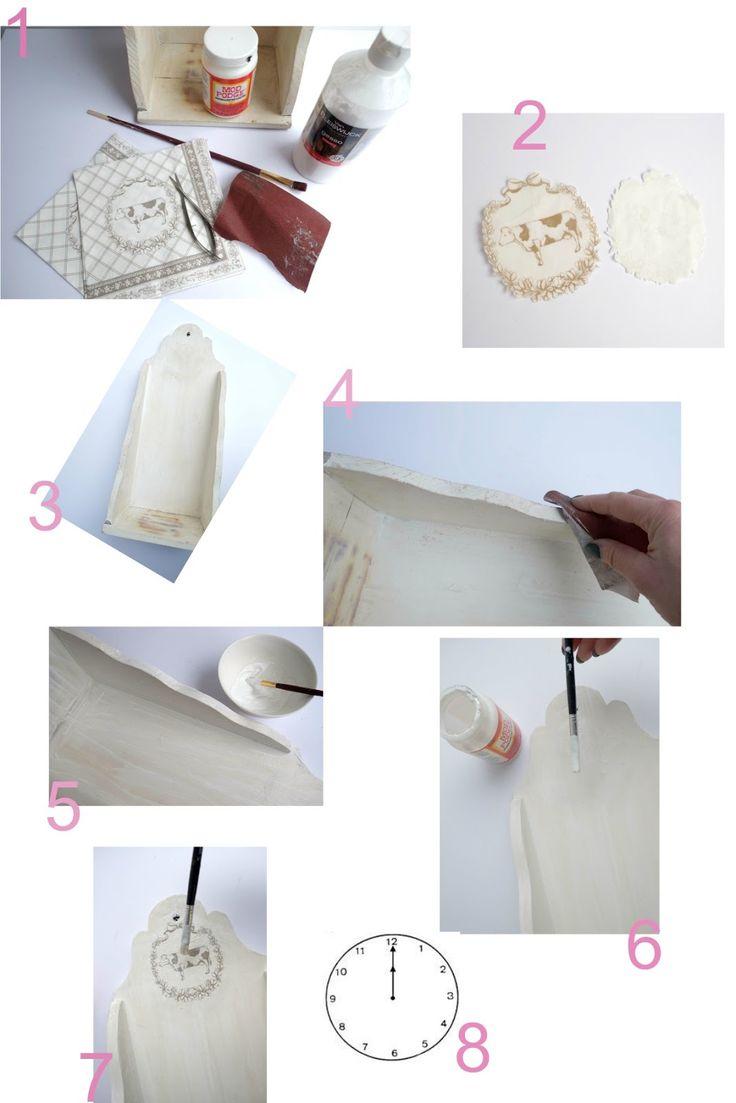Hier wil ik op een simpele manier de servetten techniek uitleggen en laten zien. Met servetten techniek kun je super mooie dingen mee maken, kapstokken, glazen, servies, meubels of net als deze decoratie plak.