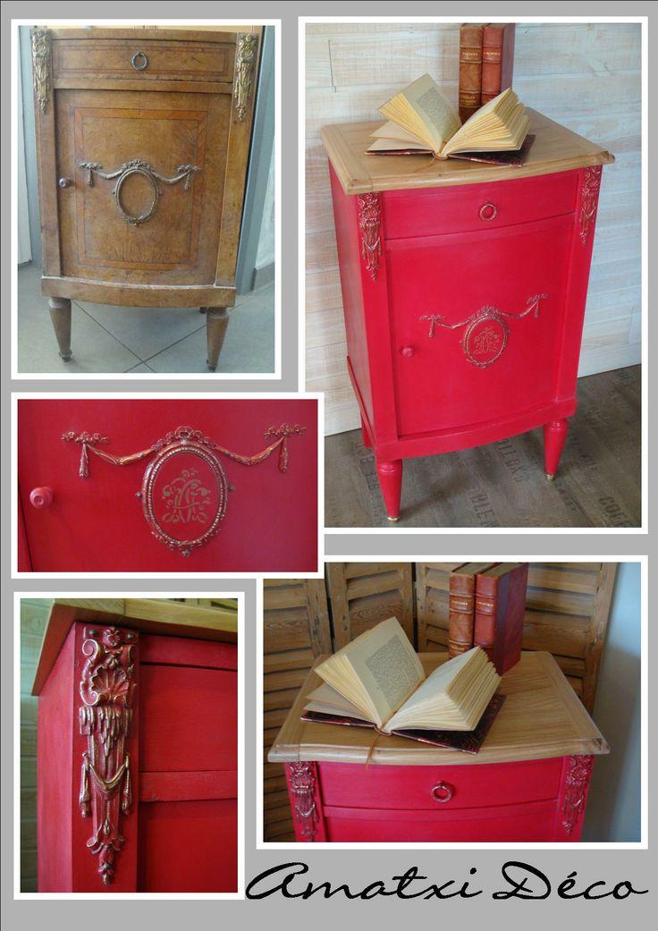 Petit meuble relook avec chalk paint tm peinture - Petit meuble a peindre ...