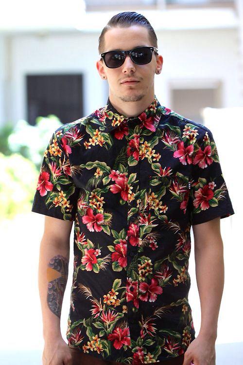Mens Hawaiian Wedding Shirts