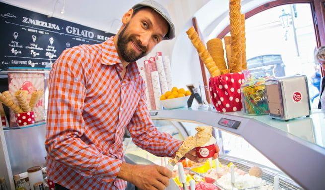 Honza Hochsteiger: Do italské zmrzliny patří dvacet procent vzduchu - Vitalia.cz
