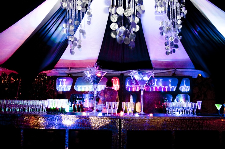 rock-star bar and lounge. contact us today to design you party/wedding http://www.facebook.com/EmmaCorrieDesigns