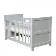 Bopita Cot-Bett 70 x 140 cm Mix & Match pure grey