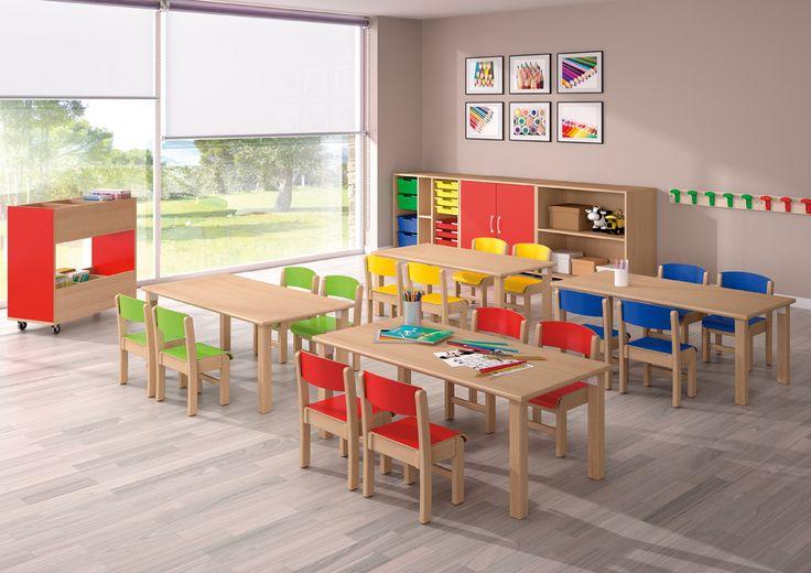 Mobiliario perfecto para que los niños estén cómodos en la escuela