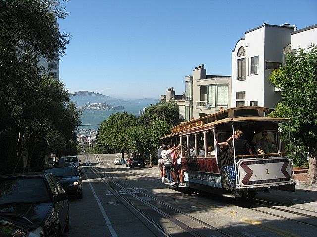 Ride a cable car: http://www.ytravelblog.com/san-francisco-travel-tips-from-travelers/