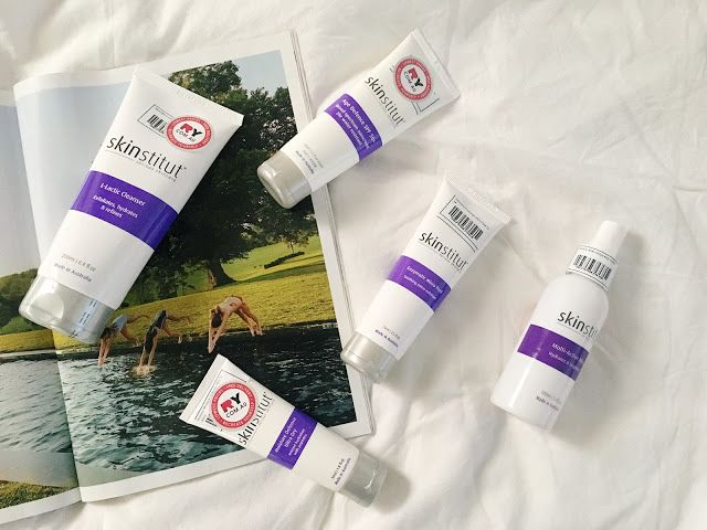 An Australian online beauty store called RY (Recreate Yourself) contacted me a while back and asked if I would like to be sent some skincare to try out. I had never heard of Skinstitut before but as i